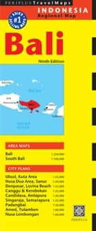 Bali Travel Map Ninth Edition ebook by Periplus Editors