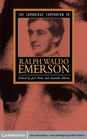 The Cambridge Companion to Ralph Waldo Emerson ebook by Joel Porte,Saundra Morris
