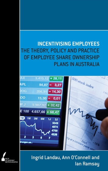 Incentivising Employees - The theory, policy and practice of employee share ownership plans in Australia ebook by Ian Ramsay,Ingrid Landau,Ann O'Connell