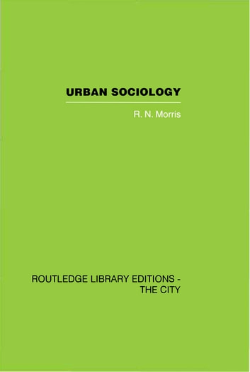urban sociology Members of the section on community and urban sociology explore new social theory and develop empirical research on groups living, working, and communicating across.