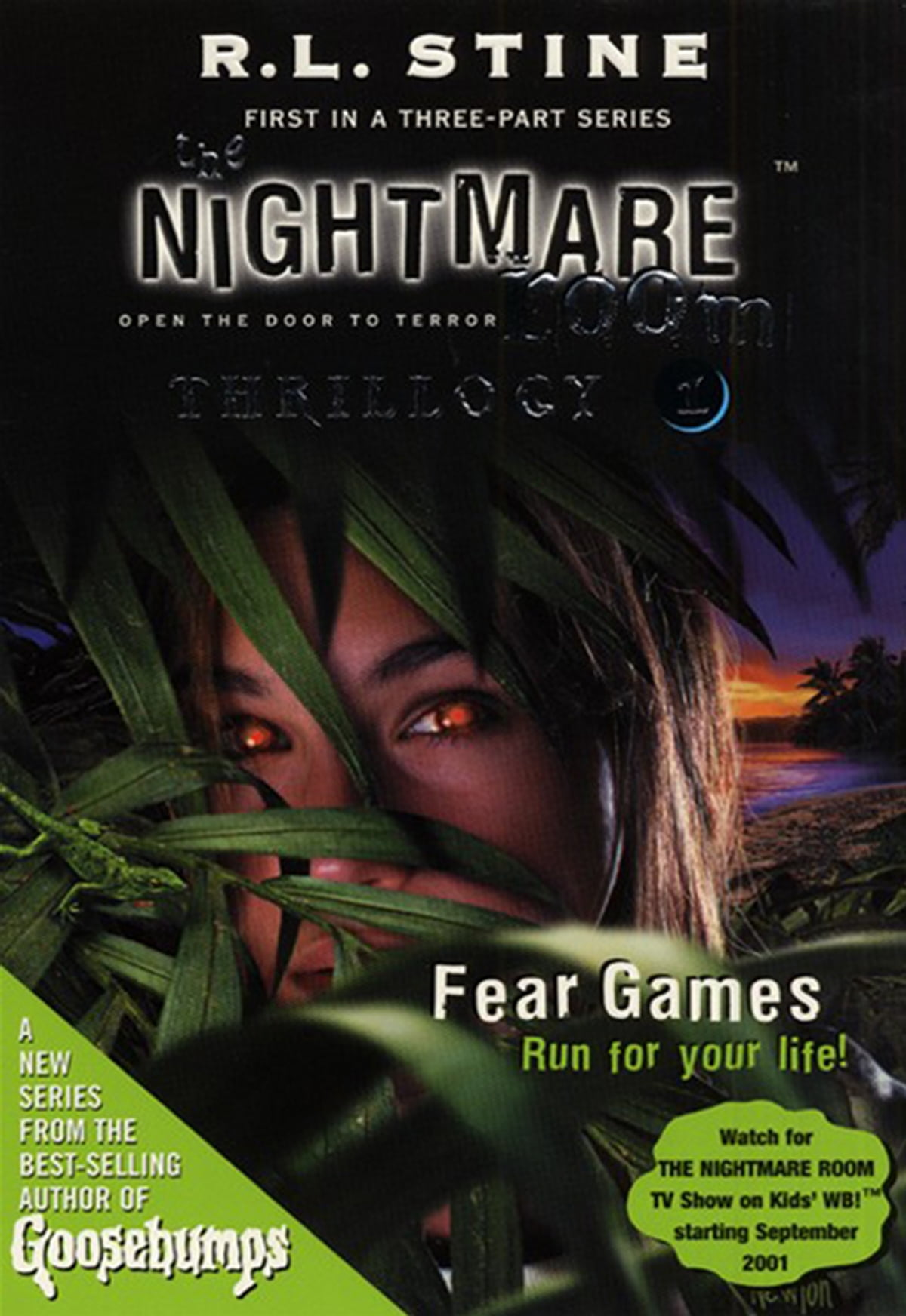 The Nightmare Room Thrillogy #1: Fear Games eBook by R.L. Stine ...