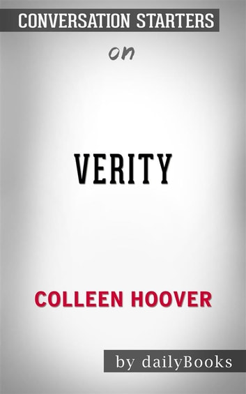Verity: by Colleen Hoover | Conversation Starters eBook by ...