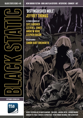 Black Static #48 (September-October 2015) ebook by TTA Press