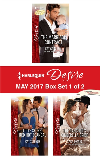 Harlequin Desire May 2017 - Box Set 1 of 2 - An Anthology eBook by Kat Cantrell,Cat Schield,Sara Orwig