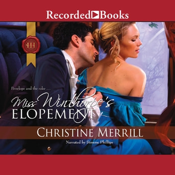 Miss Winthorpe's Elopement audiobook by Christine Merrill