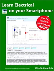 Learn Electrical On Your Smartphone ebook by Clive W. Humphris