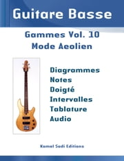 Guitare Basse Gammes Vol. 10 - Mode Aeolien (Gamme Mineure Naturelle) ebook by Kamel Sadi