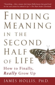 Finding Meaning in the Second Half of Life - How to Finally, Really Grow Up ebook by James Hollis