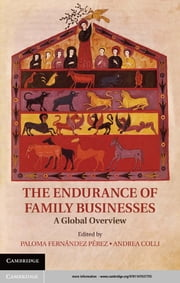 The Endurance of Family Businesses - A Global Overview ebook by Professor Paloma Fernandez Perez,Professor Andrea Colli