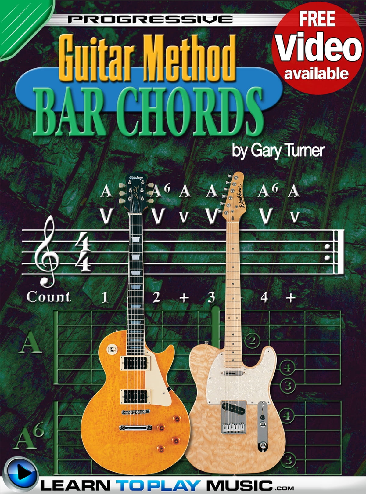 Guitar Lessons Guitar Bar Chords For Beginners Ebook By