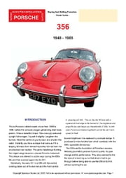 Porsche 356 Buyers' Guide ebook by Mellor, Chris