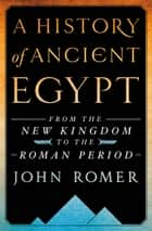 A History of Ancient Egypt Volume 2 - From the Great Pyramid to the Fall of the Middle Kingdom ebook by John Romer