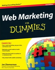 Web Marketing For Dummies ebook by Jan Zimmerman