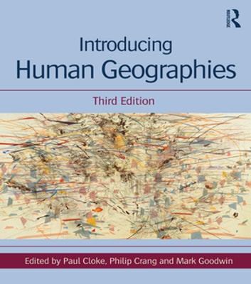 Introducing human geographies ebook by paul cloke 9781134051380.