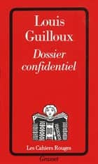Dossier confidentiel ebook by Louis Guilloux