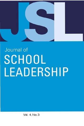 Jsl Vol 4-N3 ebook by JOURNAL OF SCHOOL LEADERSHIP