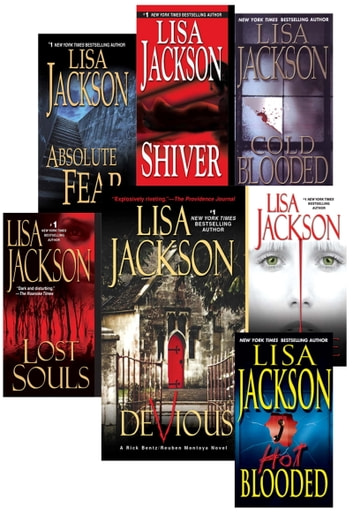 Lisa Jackson's Bentz & Montoya Bundle: Shiver, Absolute Fear, Lost Souls, HotBlooded, Cold Blooded, Malice & Devious ebook by Lisa Jackson