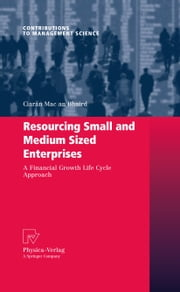 Resourcing Small and Medium Sized Enterprises - A Financial Growth Life Cycle Approach ebook by Ciarán Mac an Bhaird