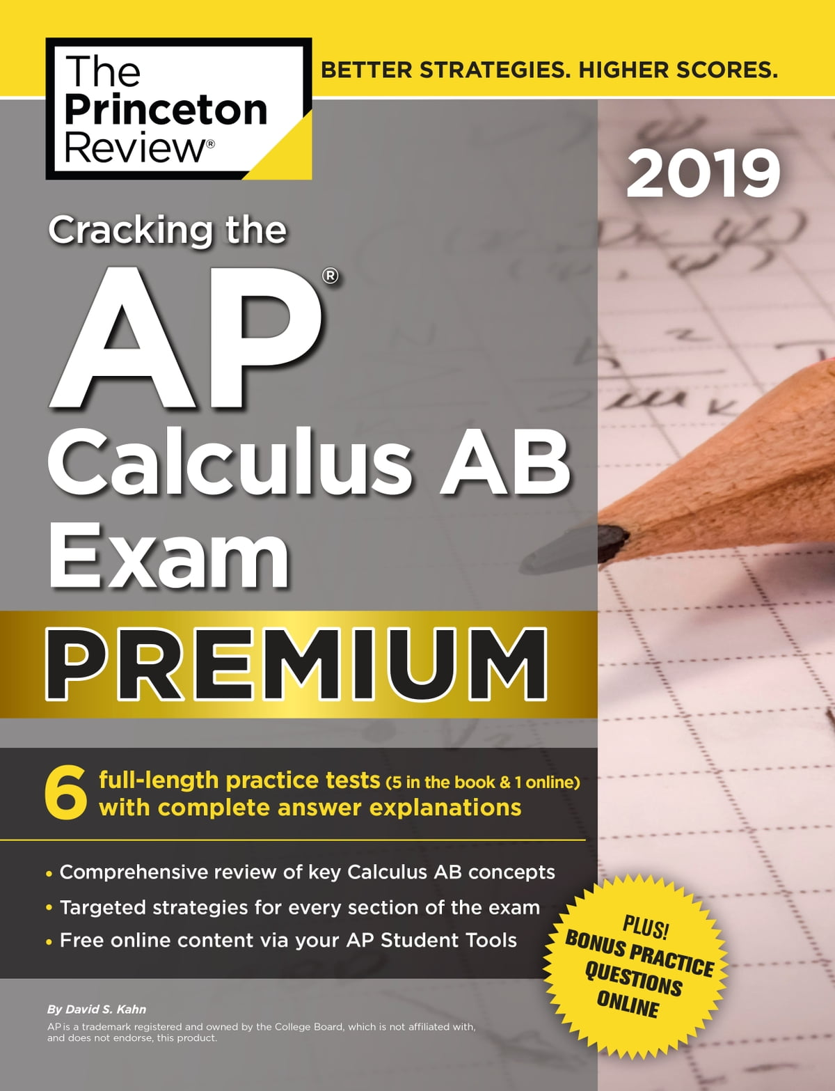Cracking the AP Calculus AB Exam 2019, Premium Edition eBook by Princeton  Review - 9781524758318 | Rakuten Kobo