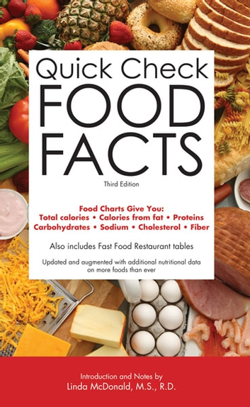 Quick Check Food Facts, 3rd edition ebook by Barron's Educational Series, Inc.