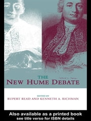 The New Hume Debate ebook by Rupert Read,Kenneth Richman