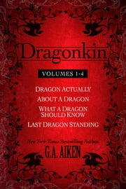 Dragonkin Bundle Books 1-4 ekitaplar by G.A. Aiken
