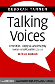 Talking Voices ebook by Tannen,Deborah