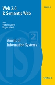 Web 2.0 & Semantic Web ebook by Vladan Deved#ic,Dragan Ga#evic