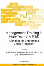 Management Training in High-Tech and R&D - Concept for Enterprises under Transition ebook by