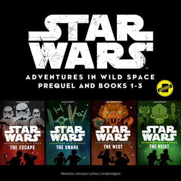 Star Wars Adventures in Wild Space: Books 1–3 audiobook by Disney Press