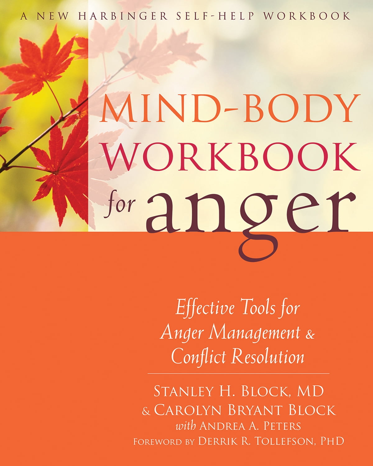 Workbooks anger workbook : Mind-Body Workbook for Anger eBook by Stanley H. Block, MD ...