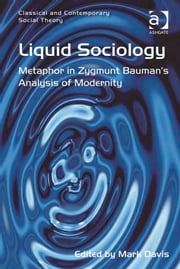 Liquid Sociology - Metaphor in Zygmunt Bauman's Analysis of Modernity ebook by Dr Mark Davis,Dr Stjepan Mestrovic