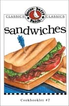 Sandwiches Cookbook ebook by Gooseberry Patch
