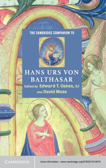 The Cambridge Companion to Hans Urs von Balthasar ebook by