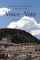 Voice and Vote ebook by Stephanie McNulty