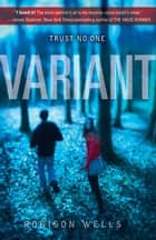 Variant ebook by Robison Wells