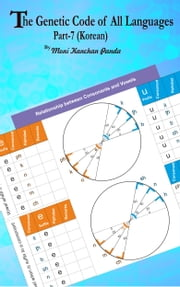 The Genetic Code of All Languages; Part-7 (Korean Hangul Alphabets) ebook by Moni Kanchan Panda