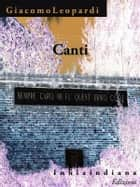 Canti ebook by Giacomo Leopardi