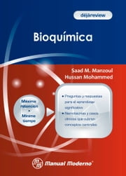 Bioquímica ebook by Saad M. Manzoul, Hussan Mohammed