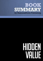 Summary: Hidden Value - Charles O'Reilly III and Jeffrey Pfeffer ebook by BusinessNews Publishing
