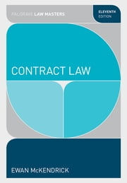 Contract Law ebook by Ewan McKendrick