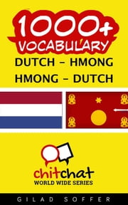 1000+ Vocabulary Dutch - Hmong ebook by Gilad Soffer