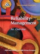 Reliability Management ebook by International EQE