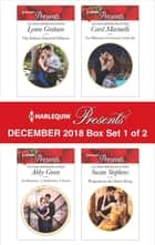 Harlequin Presents December 2018 - Box Set 1 of 2 - The Italian's Inherited Mistress\An Innocent, A Seduction, A Secret\The Billionaire's Christmas Cinderella\Pregnant by the Desert King ebook by Lynne Graham, Abby Green, Carol Marinelli,...