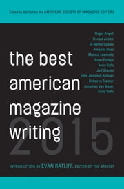 The Best American Magazine Writing 2015 ebook by The American Society of Magazine Editors