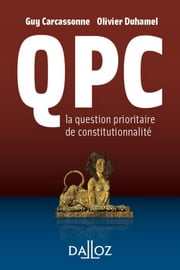 La QPC ebook by Guy Carcassonne,Olivier Duhamel
