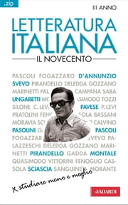 Letteratura italiana. Il Novecento - Sintesi .zip ebook by Laura Craici