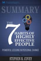 Summary: The 7 Habits of Highly Effective People: Powerful Lessons in Personal Change ebook by Readtrepreneur Publishing
