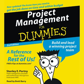 Project Management For Dummies audiobook by Stanley Portny