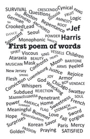 First Poem of Words ebook by Jef Harris